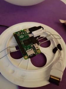 Raspberry Pi für buntes Licht