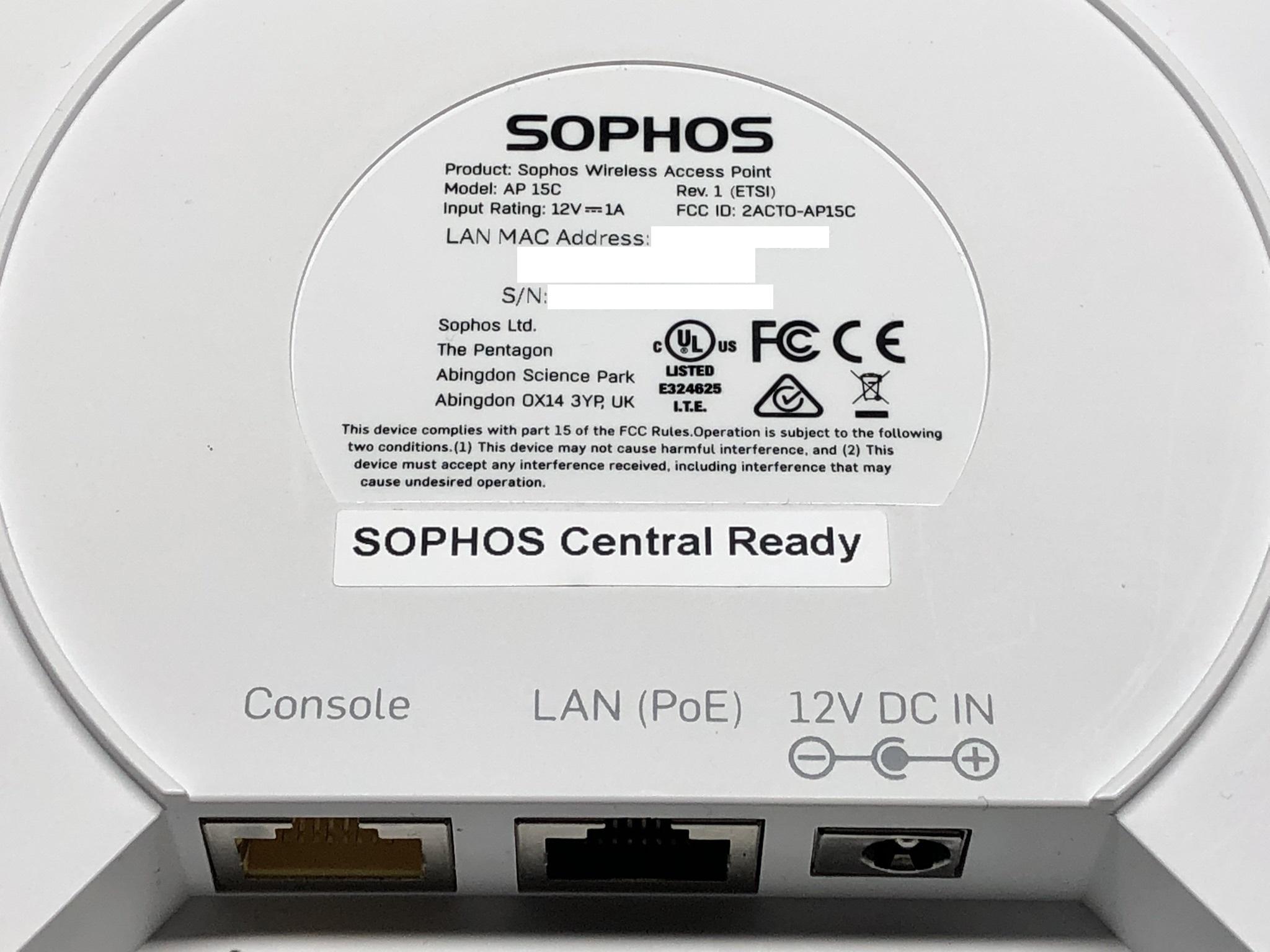 AP 15C Console