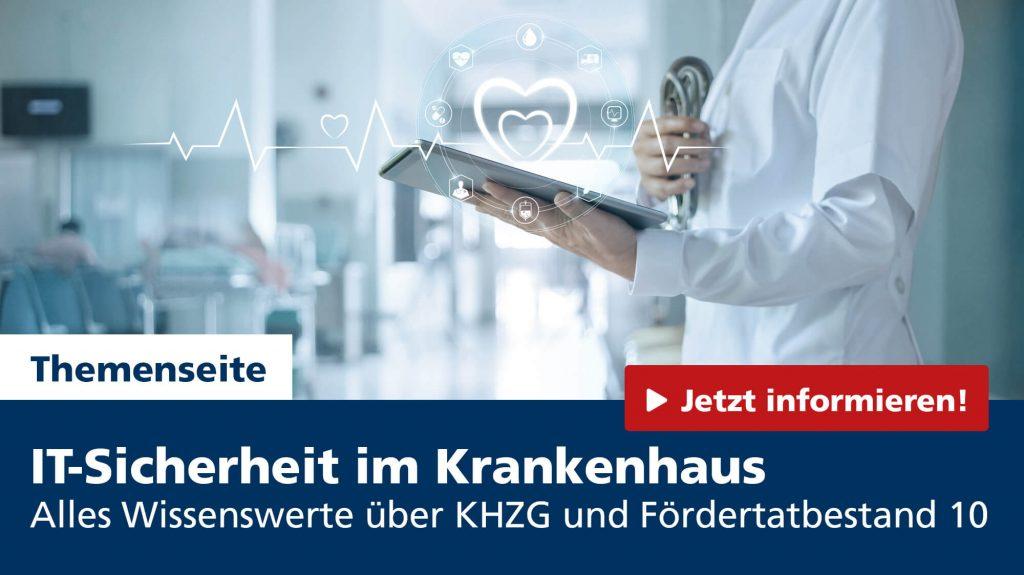 Themenseite IT-Sicherheit im Gesundheitswesen